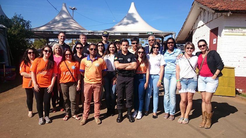 Balanço de ações realizadas pelo Comad no Rodeio Internacional de Vacaria