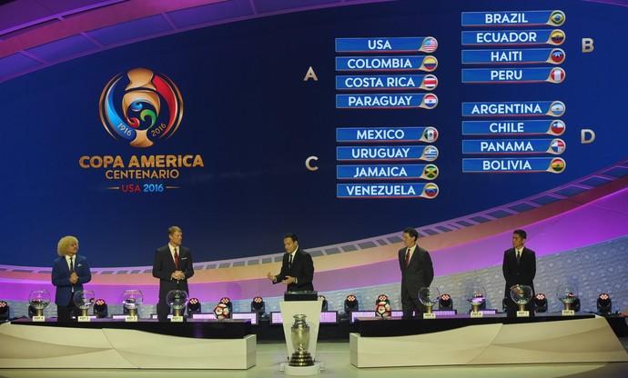Brasil se dá bem e enfrentará Equador, Haiti e Peru na Copa América 2016