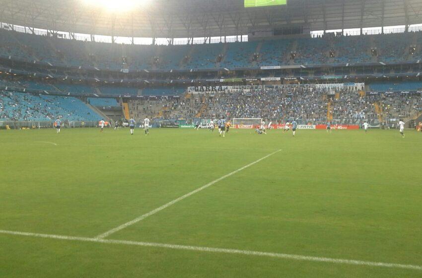 Glória luta até o fim mas perde para o Grêmio na Arena