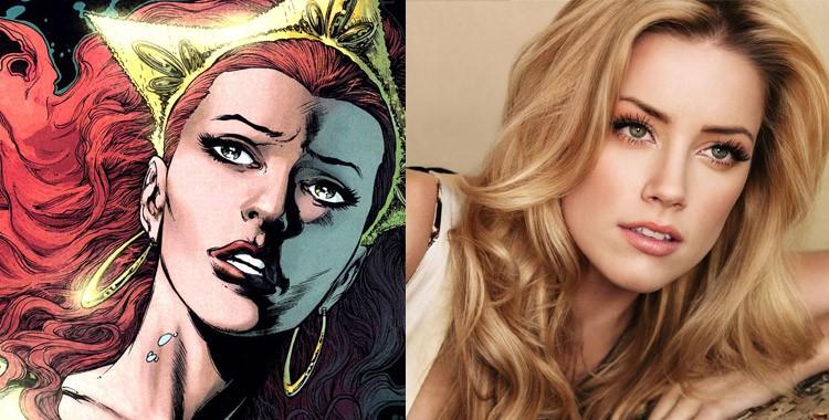 Amber Heard confirmada como Mera em 'Aquaman' e 'Liga da Justiça'
