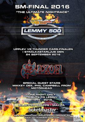 Tributo a Lemmy reunirá Saxon e músicos do Motörhead