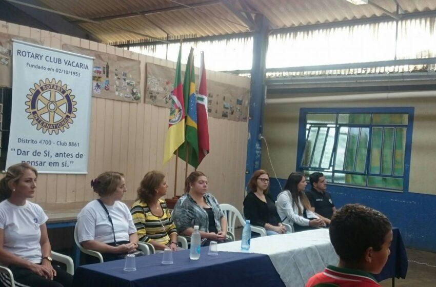 PC, IGP e COMAD participaram da ação social Rotary Comunitário em Vacaria