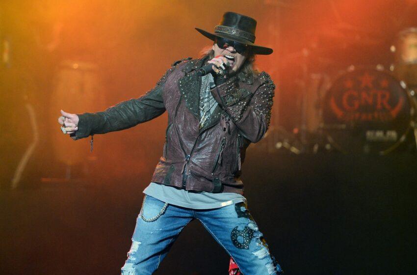 AC/DC confirma Axl Rose como vocalista convidado