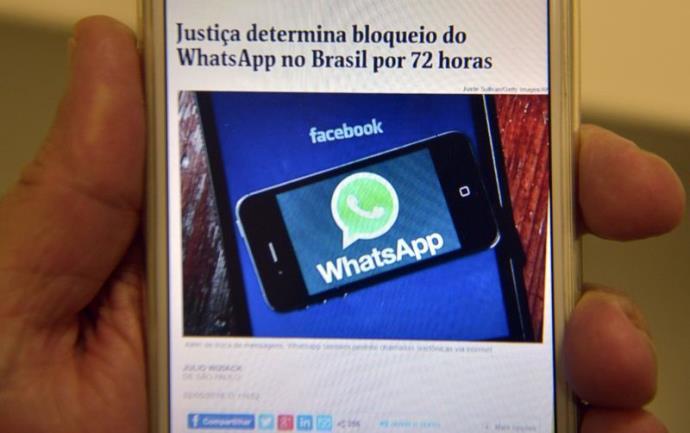 WhatsApp recorre de bloqueio, mas sem previsão de voltar a funcionar