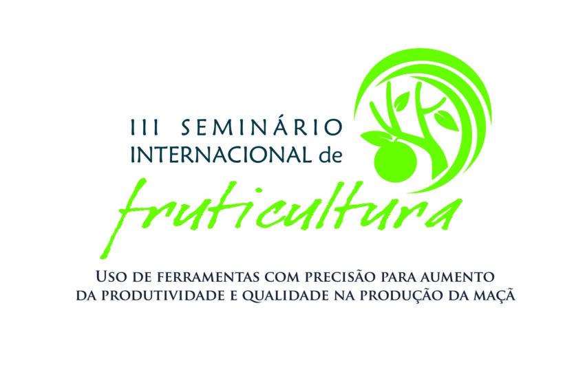 Seminário Internacional de Fruticultura acontece de 18 a 20 deste mês na Casa do Povo em Vacaria.
