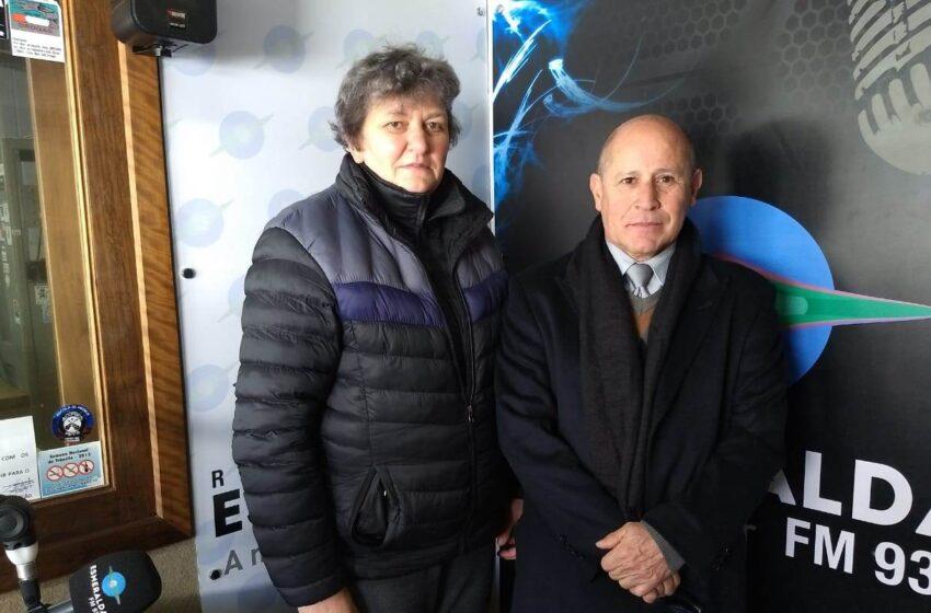 Direção do hospital Nossa Senhora da Oliveira visita a Rádio Esmeralda