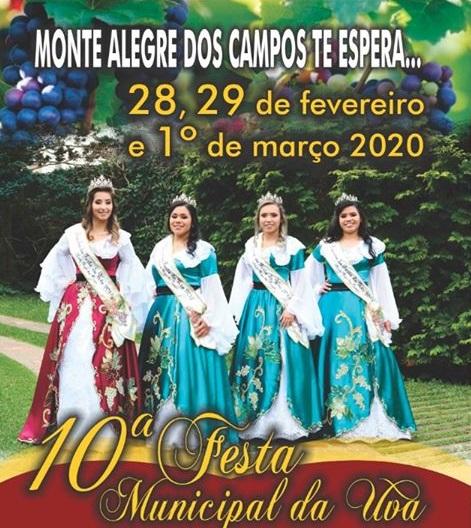 Monte Alegre dos Campos se prepara para a 10ª Festa da Uva e 3º Rodeio Intermunicipal