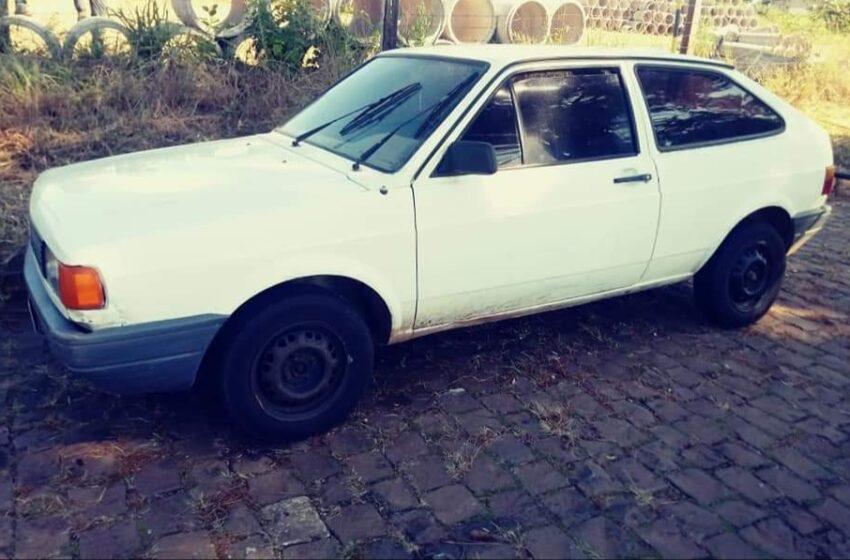 Veículo furtado recuperado