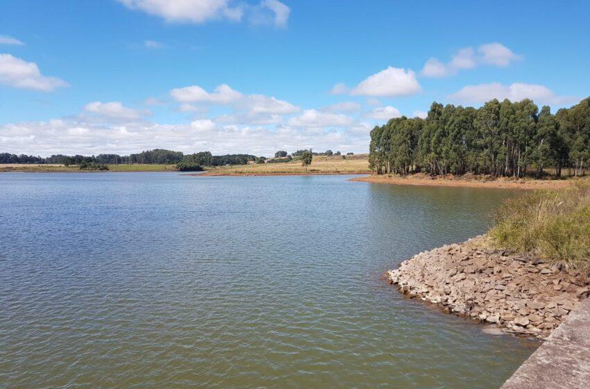Barragem da Corsan esta dois metros abaixo do nivel normal