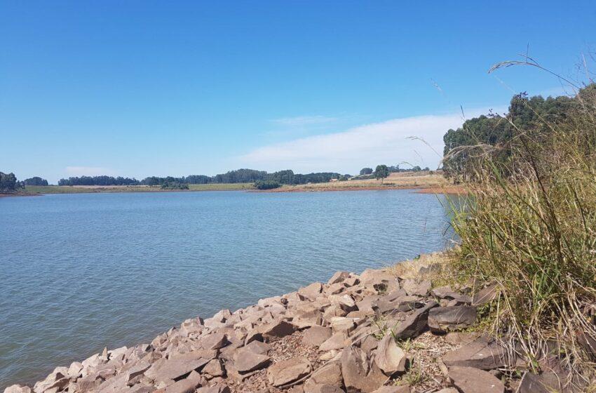 Nível da barragem da Corsan continua baixando