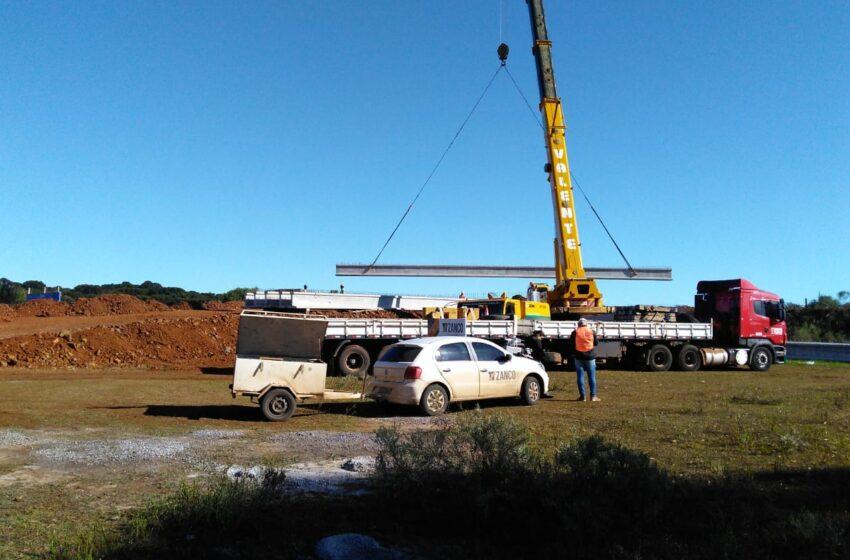 Viaduto entra na fase final de construção