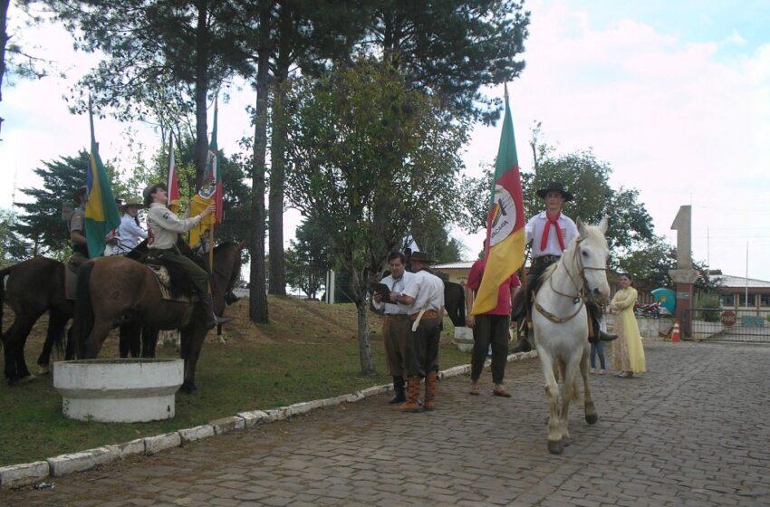 Cavalgada Ecológica movimentou Vacaria no sábado