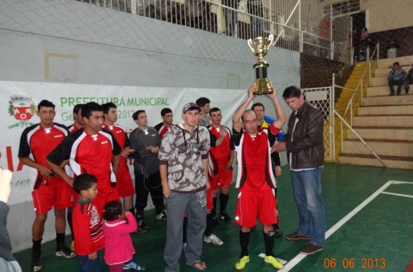 DTR é tri-campeão da Taça Cidade de Vacaria