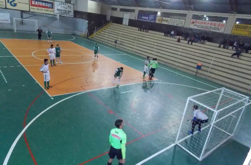 Indústria e Comércio de Futsal fechou a primeira semana