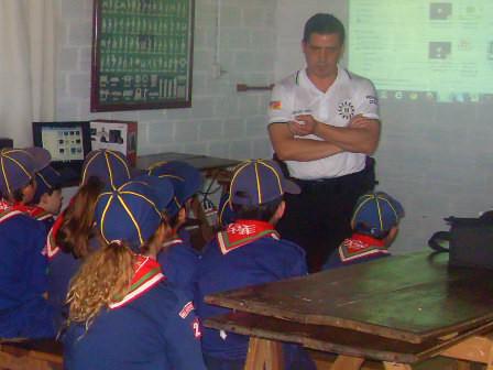 Polícia Civil ministrou palestra para o Grupo de Escoteiros