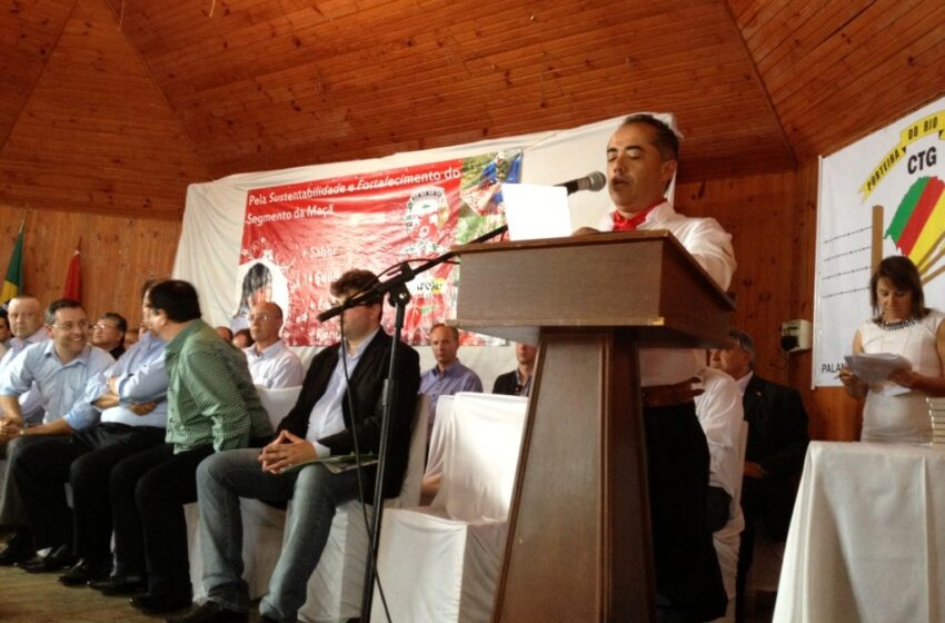 Ministro da Agricultura participa da Abertura da Safra da Maçã em Vacaria
