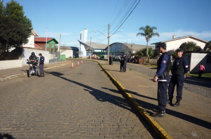 Guarda Municipal realizou mais um Comando de Trânsito nesta quarta-feira