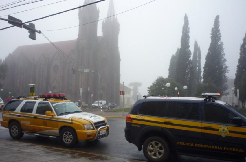 76ª Corrida do Fogo Simbólico chegou à Vacaria na manhã de hoje