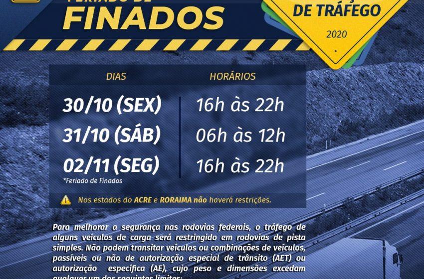 Operação Finados: PRF reforça efetivo para garantir segurança aos viajantes