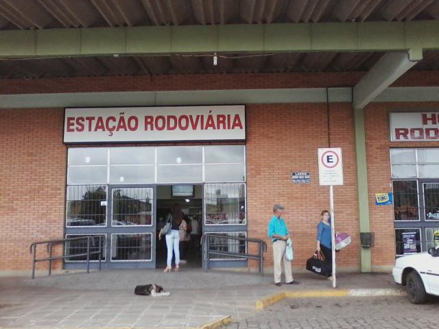 Brigada e Guarda aumentam segurança na estação rodoviária