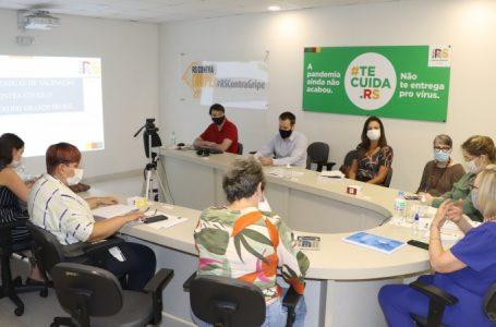 Governo do Estado prepara estrutura para vacinar gaúchos contra a Covid-19