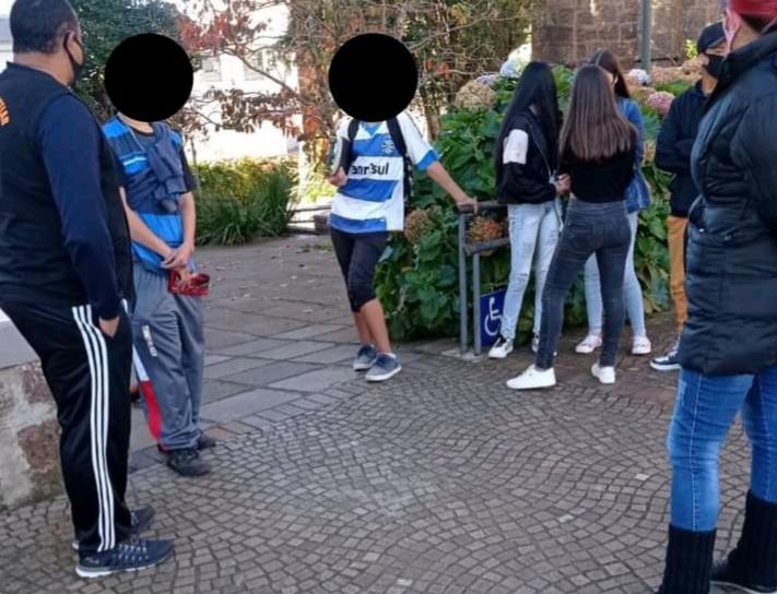 Conselho Tutelar adverte aglomeração de adolescentes em locais públicos