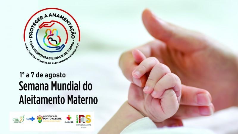 Para marcar o Agosto Dourado, Secretaria da Saúde promove atividades de incentivo ao aleitamento materno