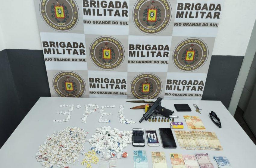 Quadrilha é presa pela BM na ERS-122, em Antônio Prado